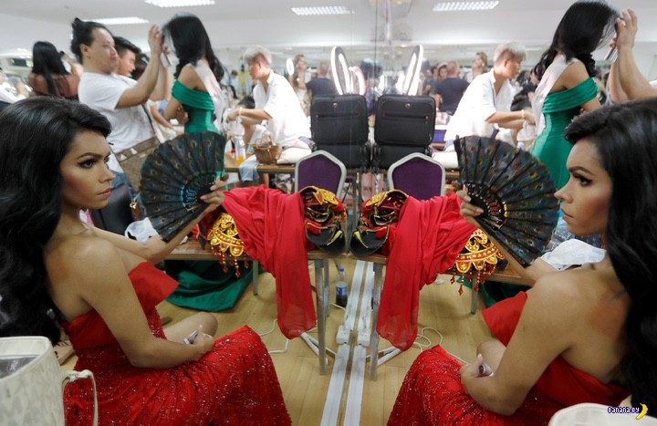 В Таиланде прошел конкурс красоты среди трансов
