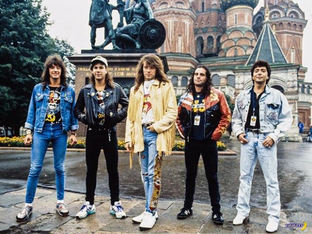 Группа Bon Jovi в 1980-ые