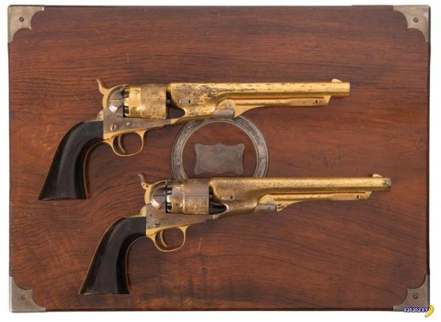 Неземная красота Colt Army Model 1860