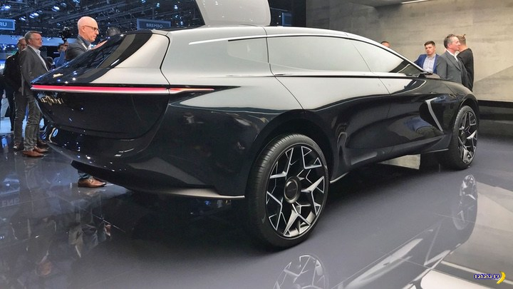 Lagonda –концепт внедорожника от Aston Martin