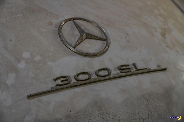 Клад из амбара –Mercedes-Benz 300SL Gullwing