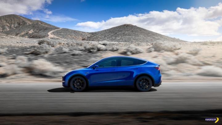 Встречайте Tesla Model Y