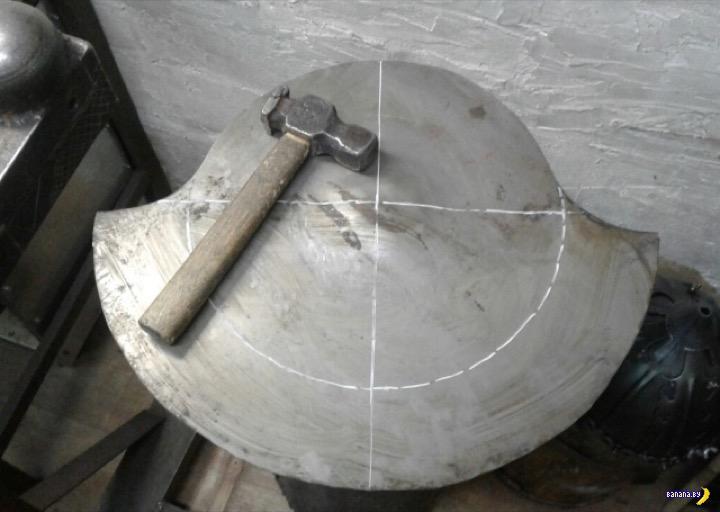 Как сделать римский шлем по римской технологии