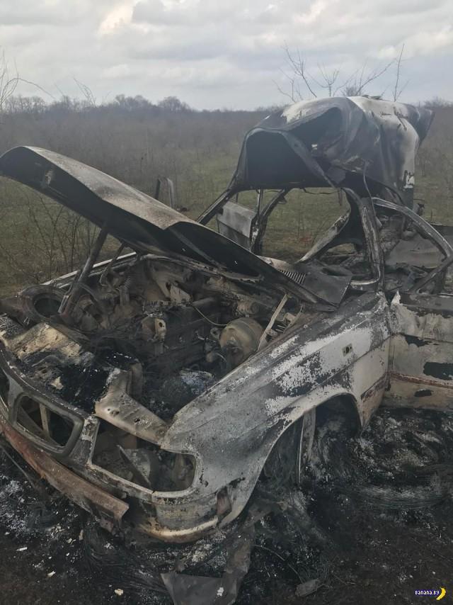 В Чечне похитили и выпотрошили банкомат