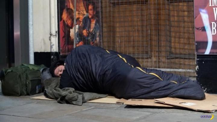 В Лондон на заработки – спать на улице