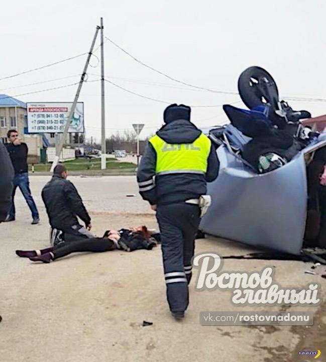 Начался сезон погибших мотоциклистов