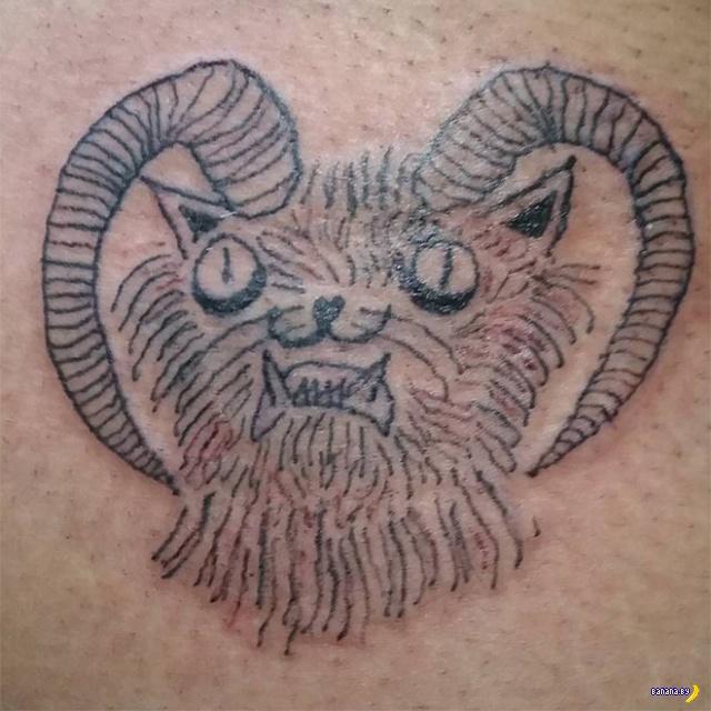 Не умеешь рисовать –бей татуировки!