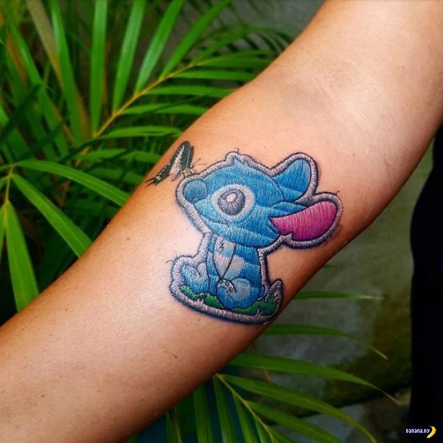 Татуировки на зависть - 116 - Вышивка!