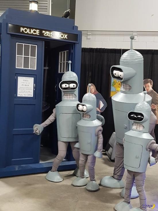 Семейство Бендеров на Ottawa Comic Con