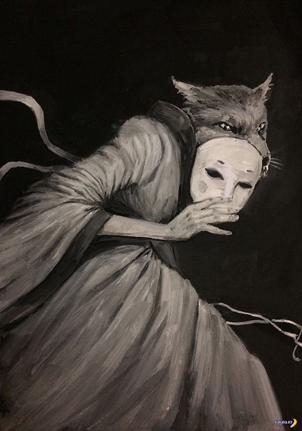 Ужасы на рисунках Dillon Samuelson
