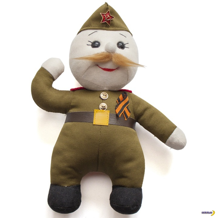 "Кукла ""Ветеран"""