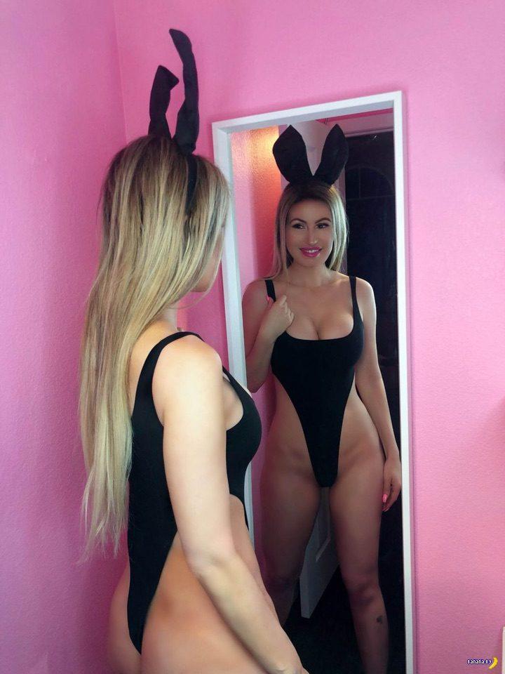 Ана Брага –зайка с яйцами