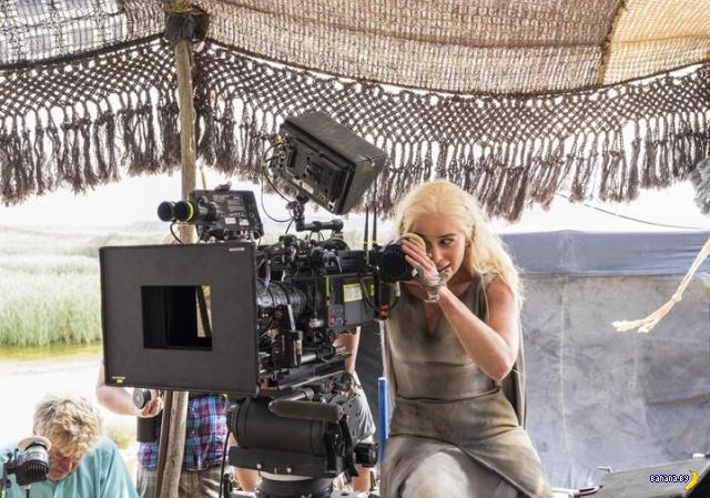 """""""Игра престолов"""" –интересные и забавные фото со съемок"""