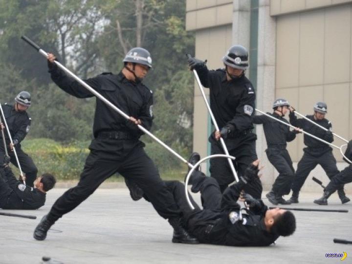 Сасумата –страшное оружие японской полиции