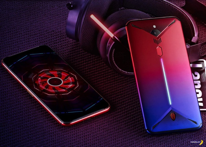 Nubia Red Magic 3 –первый смартфон с активным охлаждением!