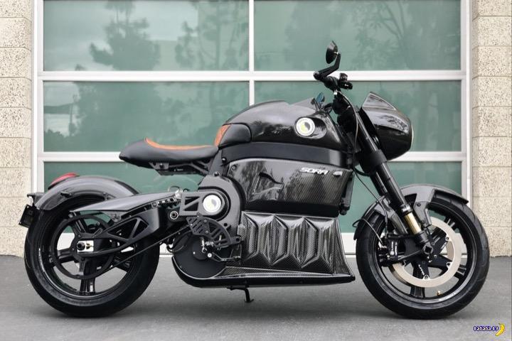 Электрический мотоцикл Lito Sora 2-го поколения