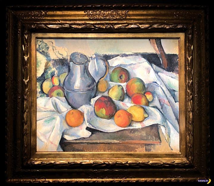 Натюрморт Пола Сезанна продан с аукциона за солидную сумму