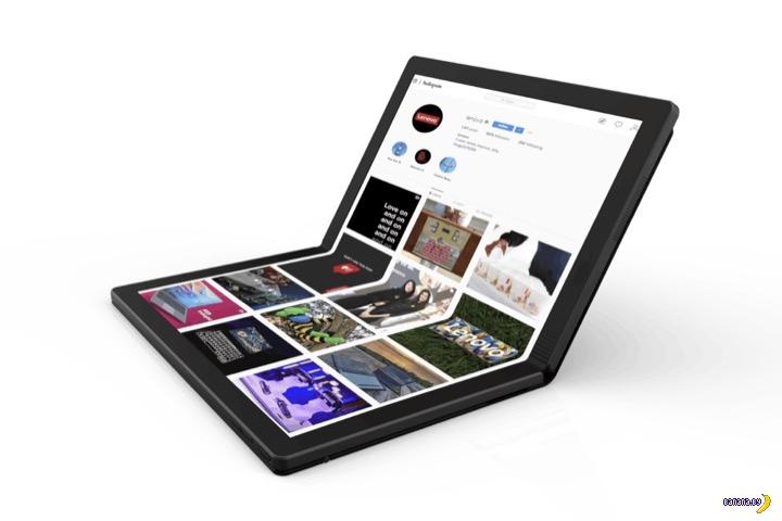 Lenovo показывает первый экранно-сенсорный ноутбук