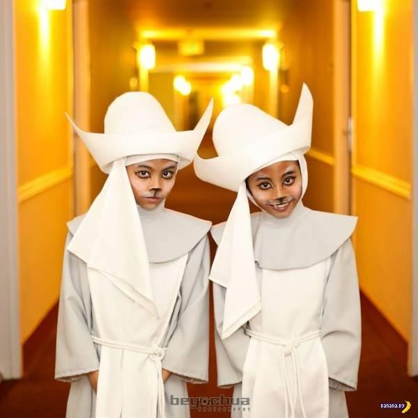11-летние сестрички с головой ушли в косплей