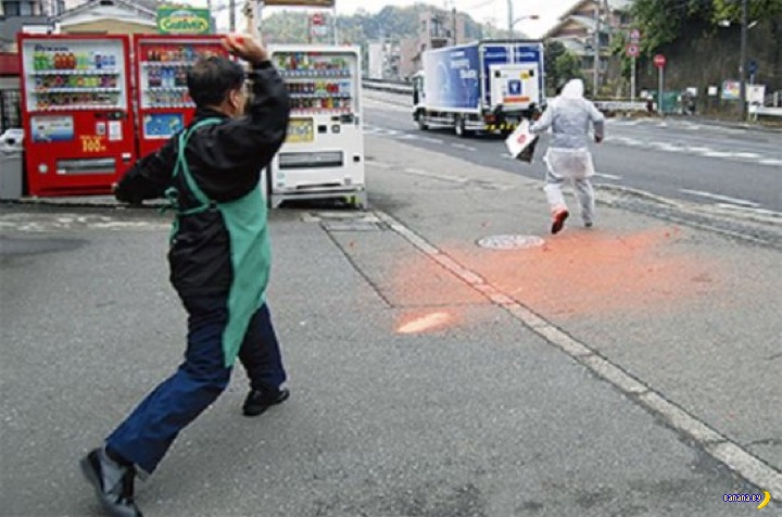 Краска на службе у японской полиции