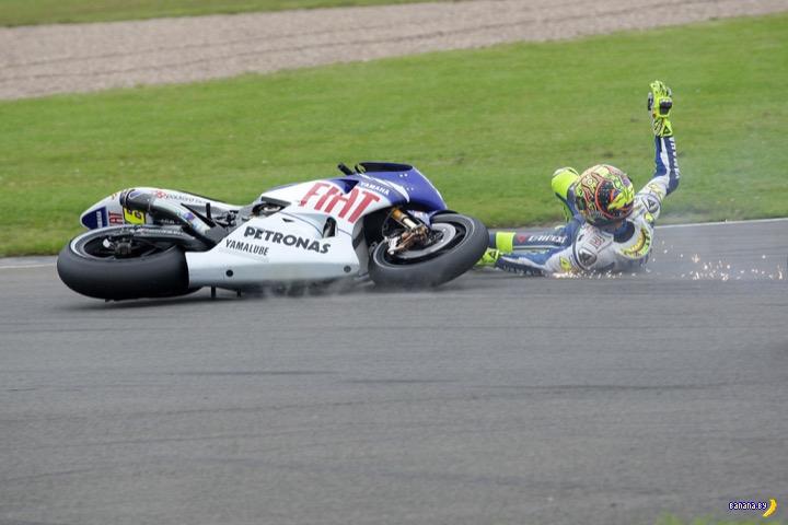 Мотоциклисты, которые умеют не разбиваться