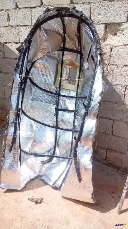 Тепловой камуфляж в Сирии