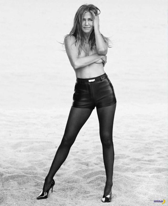 Дженнифер Энистон для Harper's Bazaar
