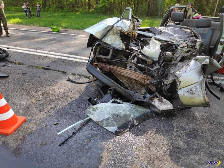 Мотоцикл и Джетта не разъехались в Быховском районе