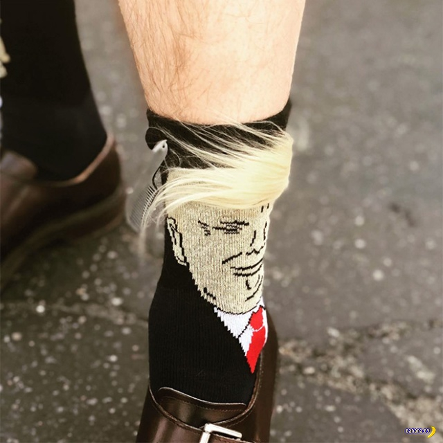 Трамп-носки –хит продаж в США