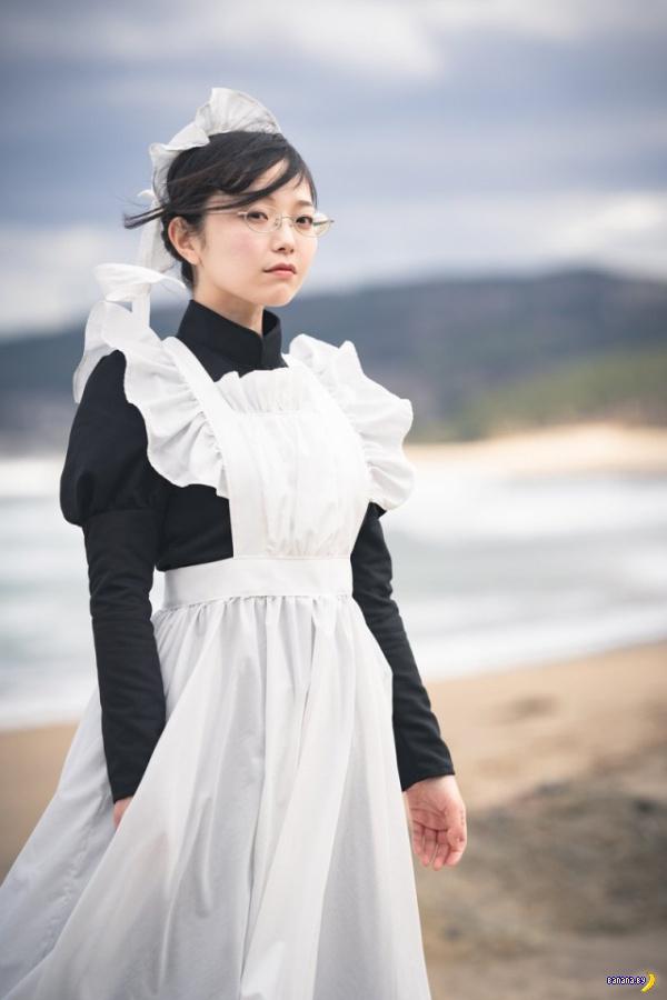 Годный косплей - японские горничные