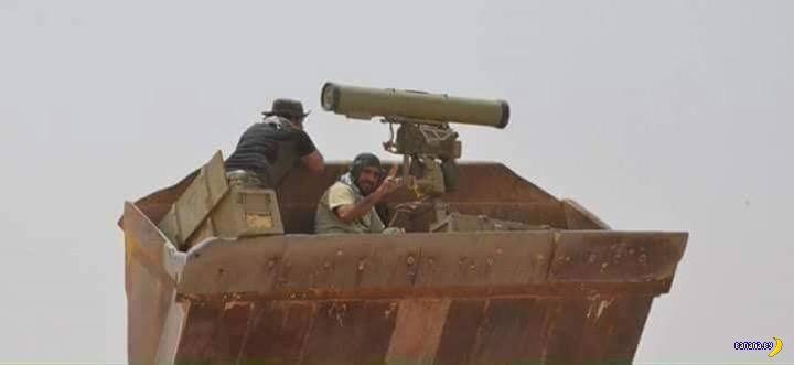 Погрузчик на войне в Ираке