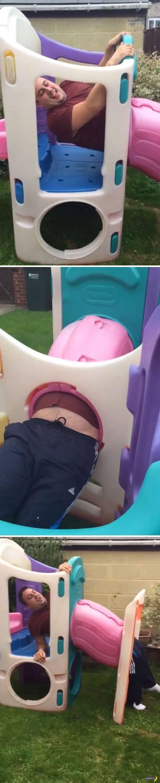Детские площадки опасны для взрослых!