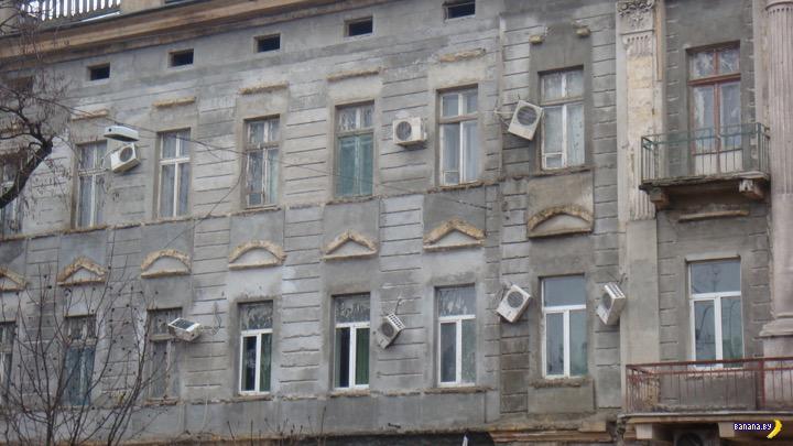 В центре Минска очередная зачистка от кондиционеров
