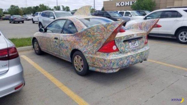 Какая у вас машина странная, вы наркоман?