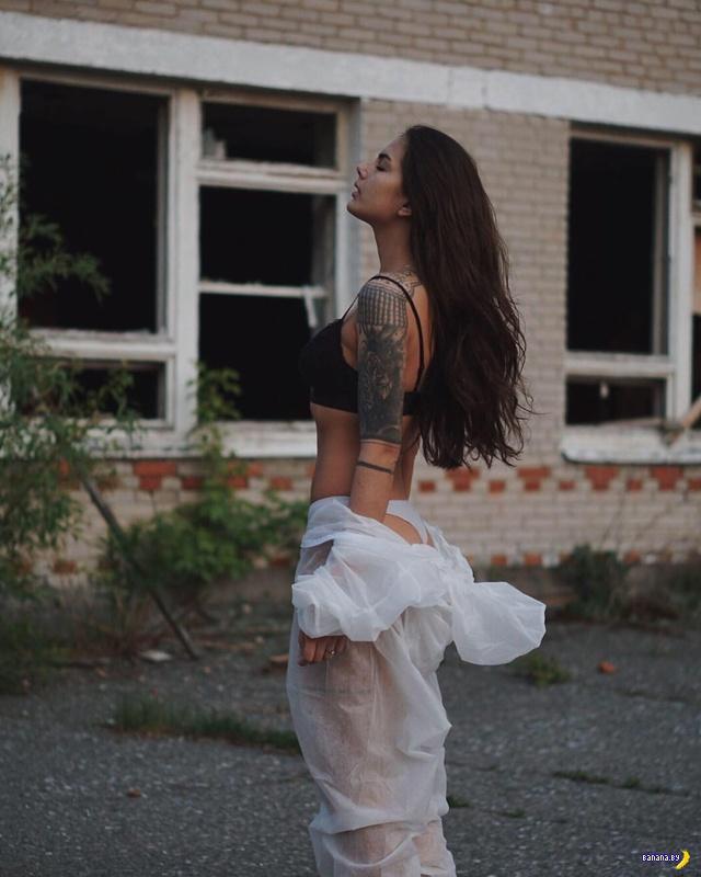 Инстаграмные кисы рванули в Чернобыль
