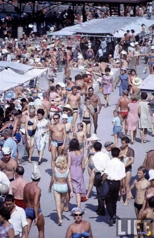 Занятный снимок из 1967 года