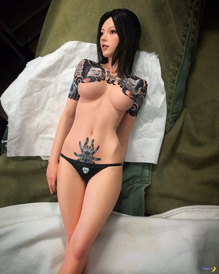 Странное увлечение: художественные съемки кукол для секса