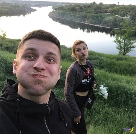 В Запорожье парень поджог свою девушку