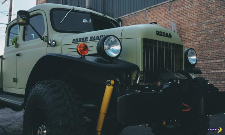 Бодрый старичок Legacy Classic 1949 Dodge Power Wagon