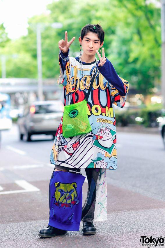 Уличные японцы