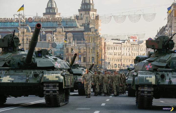 Зеленский хочет отметить военный парад в Киеве