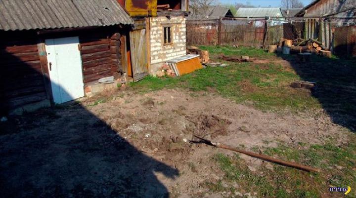 В Полоцке закопали парня живьём