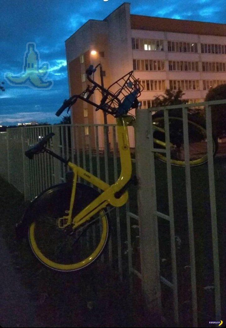 Велошеринг в Минске испытывает некоторые трудности!