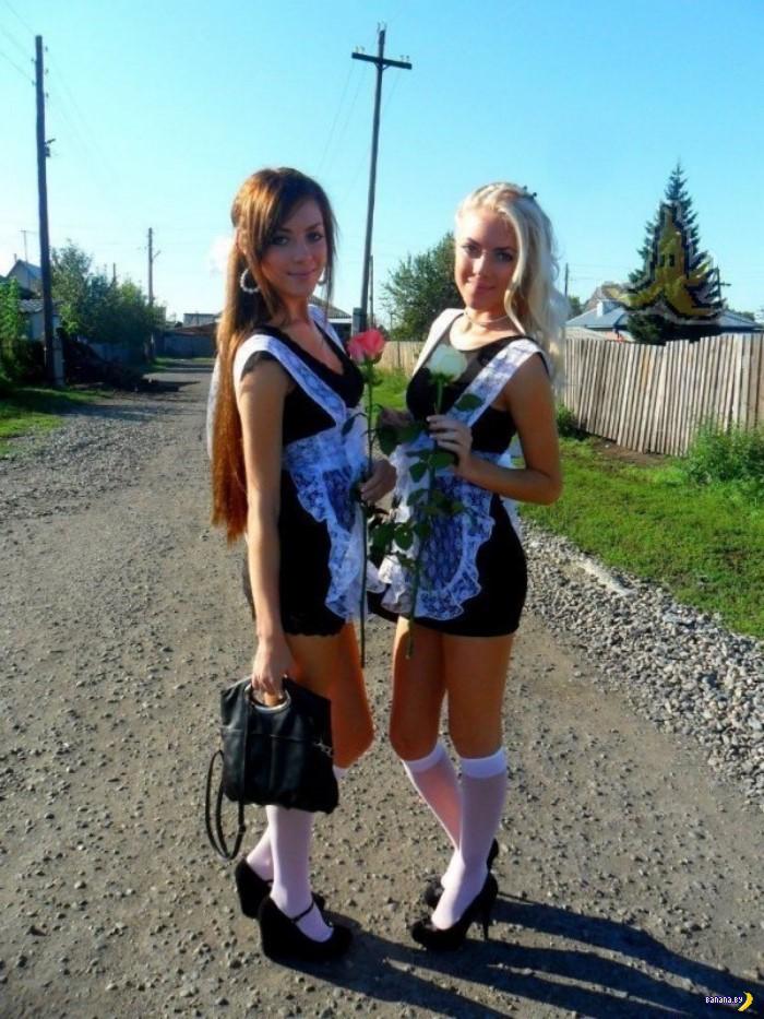Красивые выпускницы