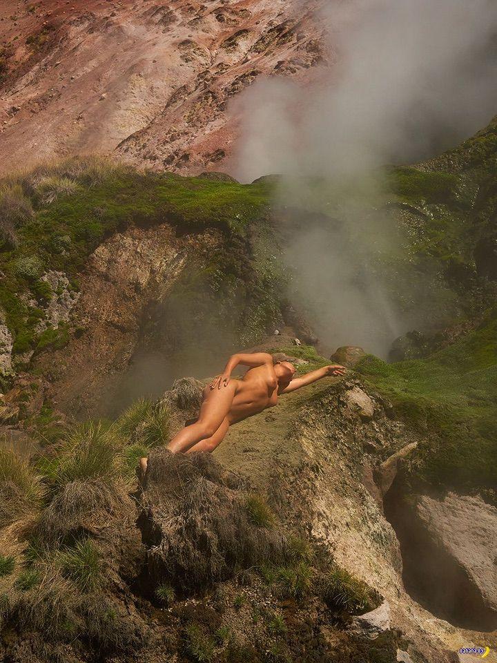 Мариса Папен снова голая – теперь нигде!