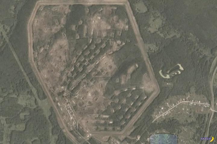 Взрыв складов в Ачинске: фото из космоса до и после