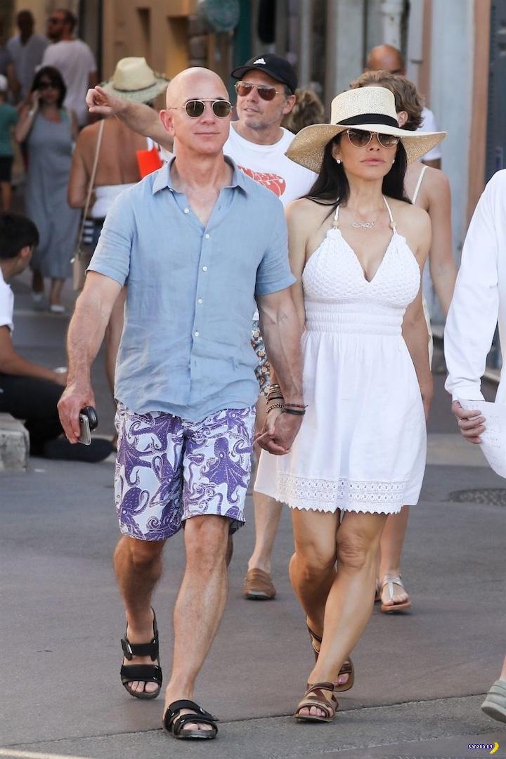 Самый богатый человек в мире и его новая женщина
