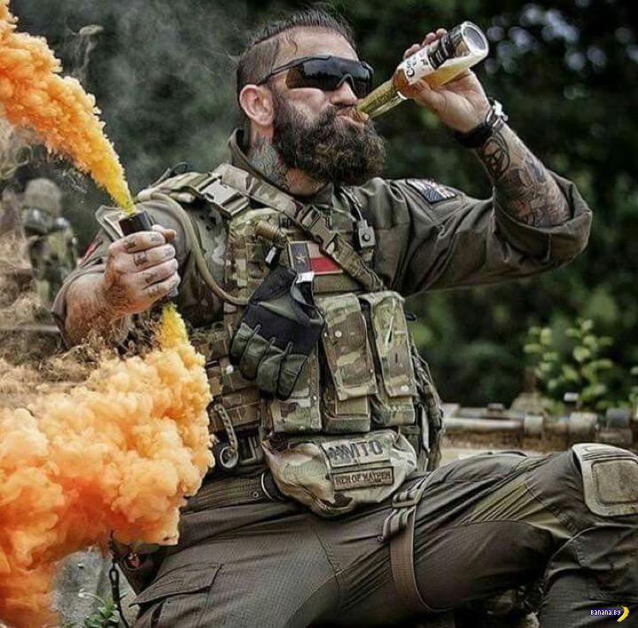 Британским военным пилотам разрешили отпускать бороду