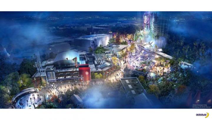 """Disney построит парк развлечений по вселенной """"Мстителей"""""""