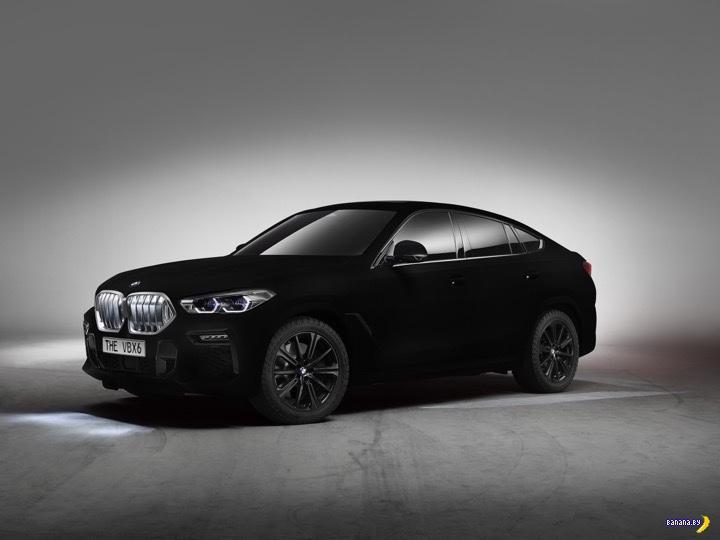 Самая чёрная краска для машины